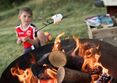 BBQ Those marshmallows